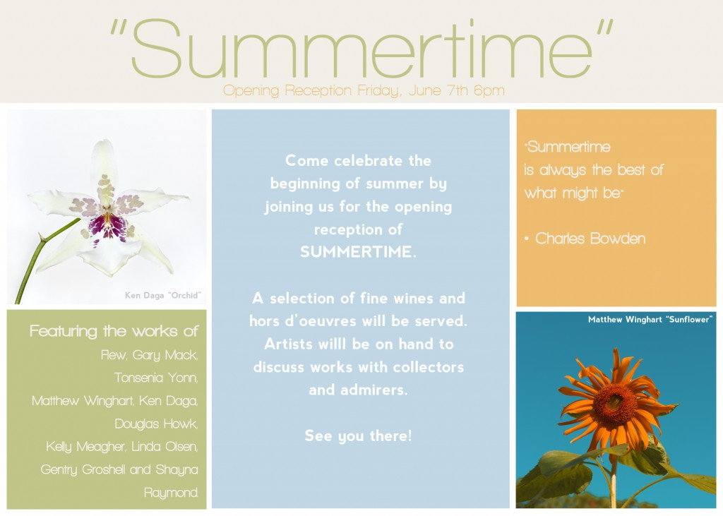 Summetime Facebook Flyer